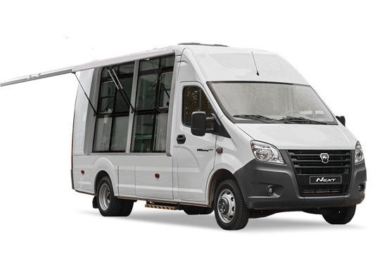 Автомобиль для мобильной торговли на базе ГАЗон NEXT