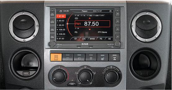 Аудиосистема в автомобилях ГАЗель NEXT