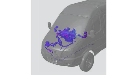 Отопительно-вентиляционная система в автомобилях на базе 4 WD