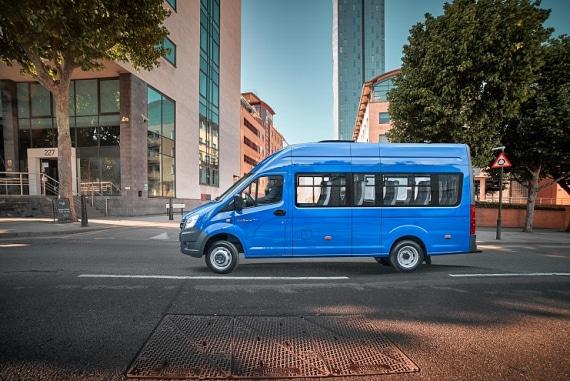 Автомобиль ГАЗель Next Автобус, сидней. Вид слева