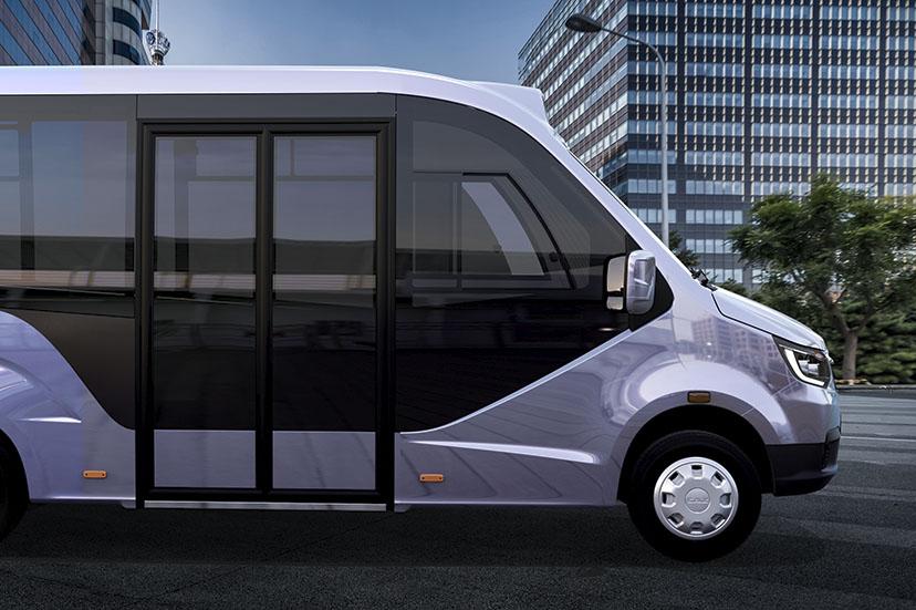 Новая форма кузова низкопольного автобуса ГАЗЕЛЬ CITY