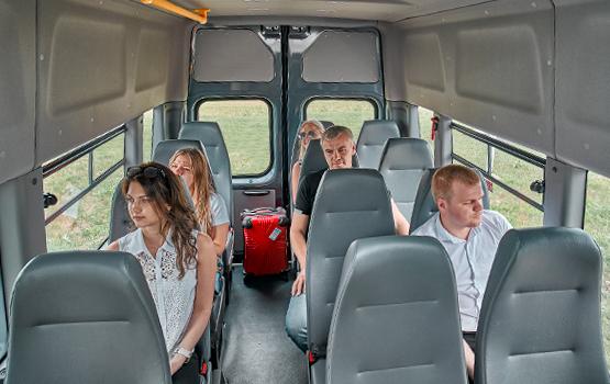 Пассажирский салон ГАЗель Next Автобус