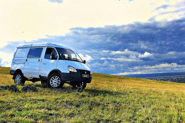 Автомобиль на базе ГАЗ 4WD, белый. Вид справа