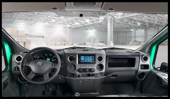 Приборная панель в автомобилях ГАЗон NEXT