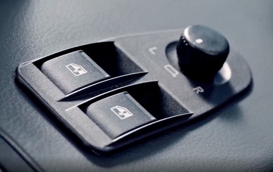 Переключатели на боковой панели в автомобилях ГАЗель Садко NEXT