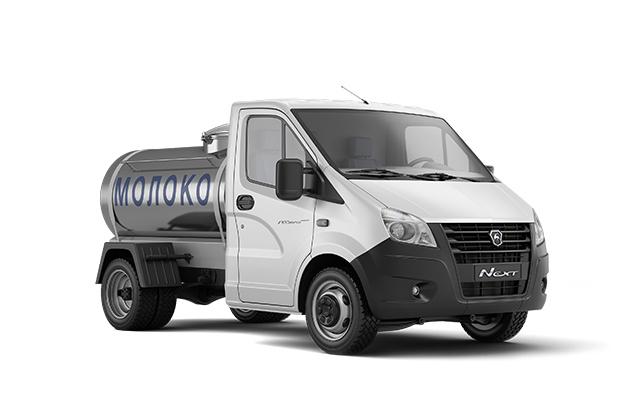 Автоцистерна для молока ГАЗель Next Борт