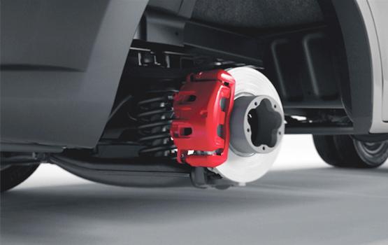 Автобусы Next комплектуется системой ABS Bosch нового поколения. Планируется оснащение системой ESP.