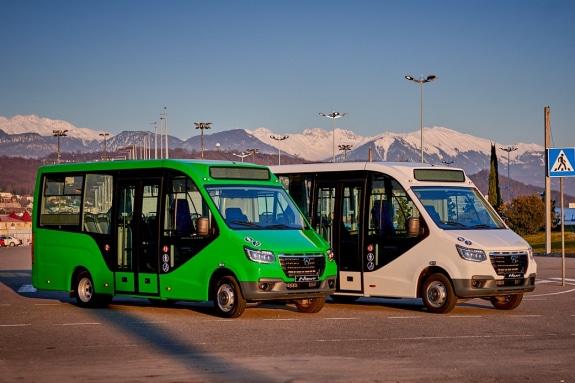Низкопольные автобусы ГАЗель City