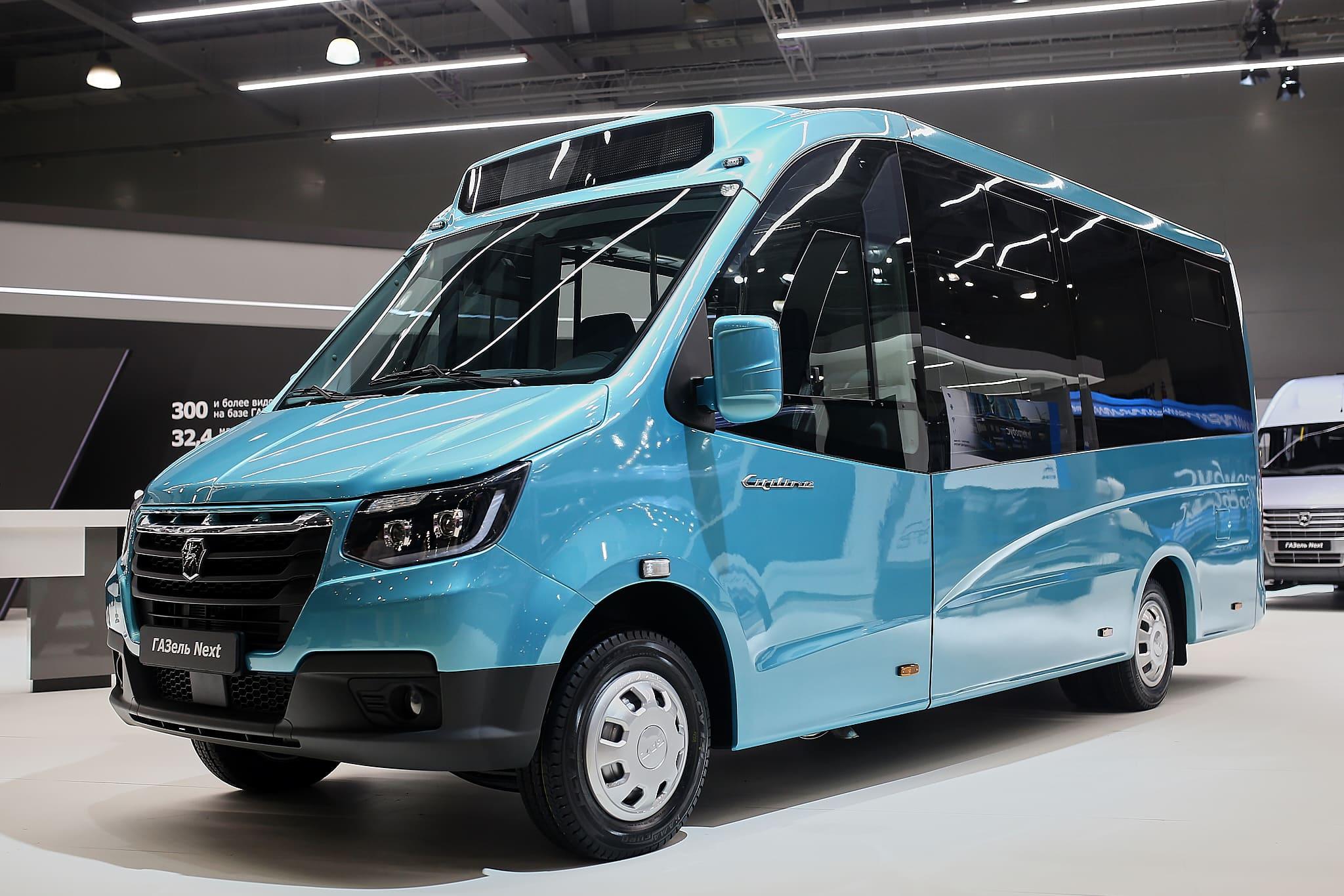 Новый микроавтобус ГАЗель NEXT-1