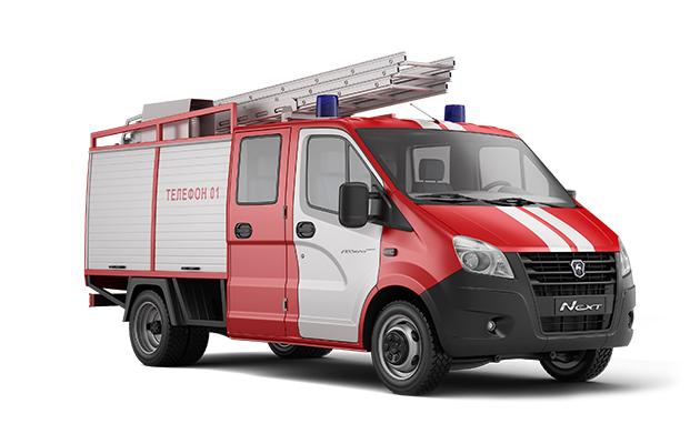 Пожарный автомобиль ГАЗель Next Борт