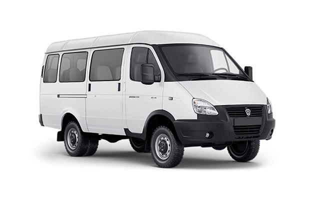 Автомобиль ГАЗель Бизнес Автобус, белый