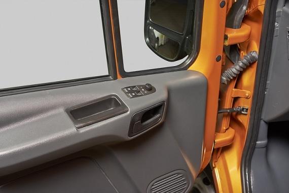 Боковая дверь в водительском отсеке ГАЗель Next Автобус