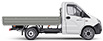 Габаритные размеры ГАЗель Next Борт 3,5 тонн, стандартная база 3 места