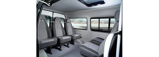 Просторная кабина в автомобилях на базе 4WD
