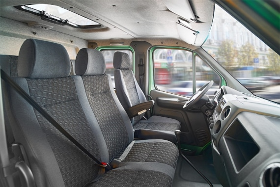Водительское сидение в автомобилях ГАЗон NEXT