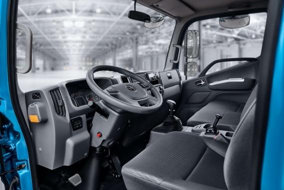 Автомобиль Валдай Next, изображения водительского сидения
