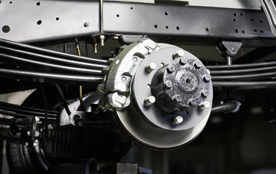 Дисковые тормозные механизмы задних колес ГАЗель Next ЦМФ 4,6 тонн