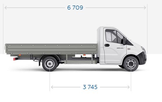 Увеличенная колесная база ГАЗель Next ЦМФ 4,6 тонн