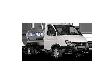 Автоцистрена для молока ГАЗель Бизнес
