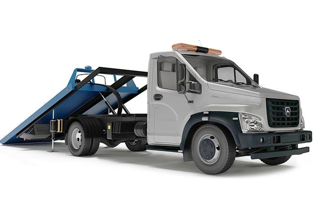 Автоэвакуатор со сдвижной платформой ГАЗон Next