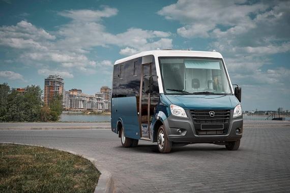 Автомобиль ГАЗель Next Автобус Citiline, сидней. Вид справа