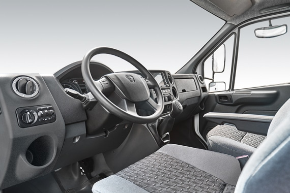 Автомобиль на базе Газон NEXT, приборная панель