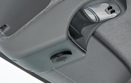 Освещение и переключатели на потолочной панели в автомобилях ГАЗель Садко NEXT