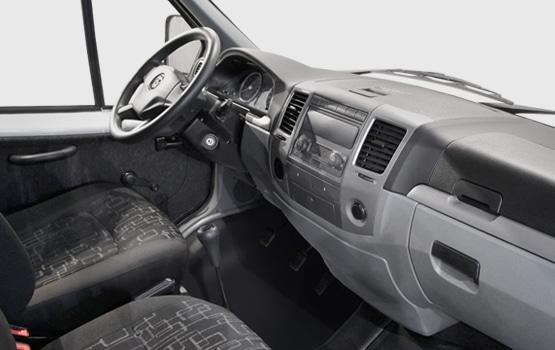 Водительская кабина в автомобилях ГАЗель