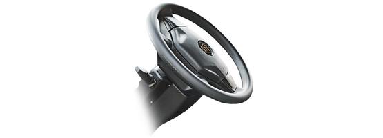 Регулируемая рулевая колонка и удобная панель приборов в автомобилях на базе 4WD