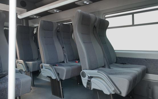 Пассажирские сидения ГАЗель Next Автобус