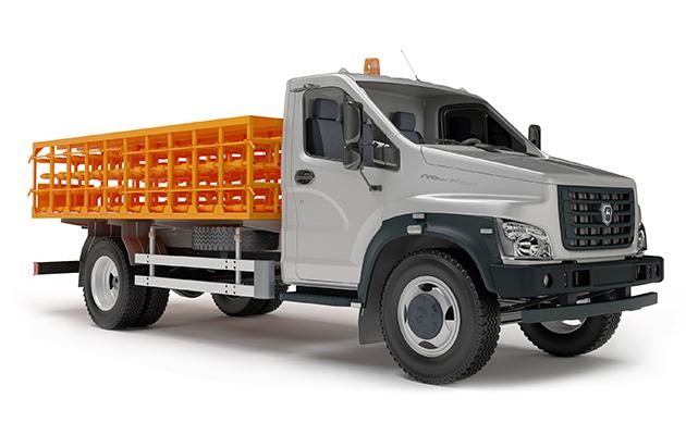 Автомобиль для перевозки баллонов с газом ГАЗон Next