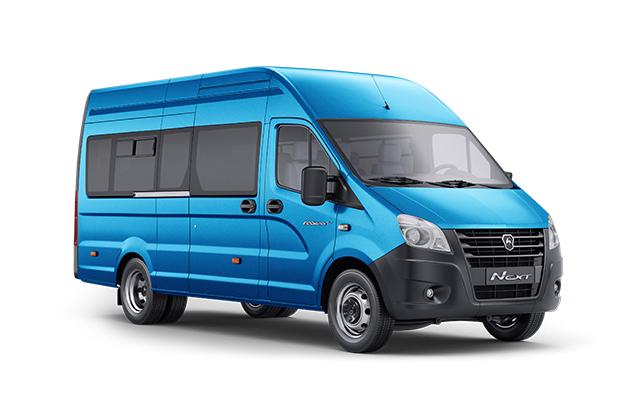 ГАЗель NEXT Автобус ЦМФ пригородный, 16+0+1 мест, синий