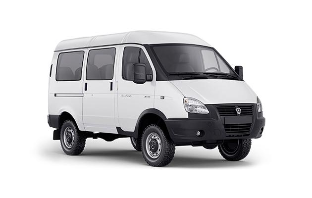 Автомобиль ГАЗель Соболь Автобус, белый