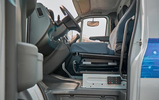 Водительское сиденье в автомобилях ГАЗон NEXT