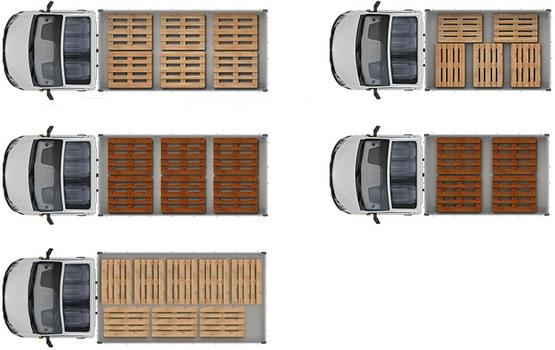 Грузовая вместительность автомобилей ГАЗель NEXT