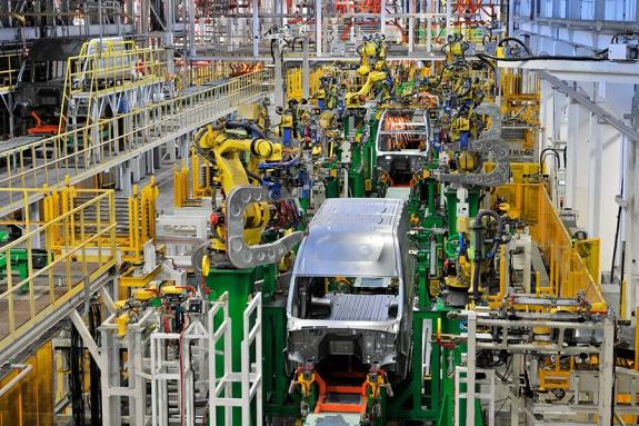 Автоматизированное производство автомобилей ГАЗель NEXT