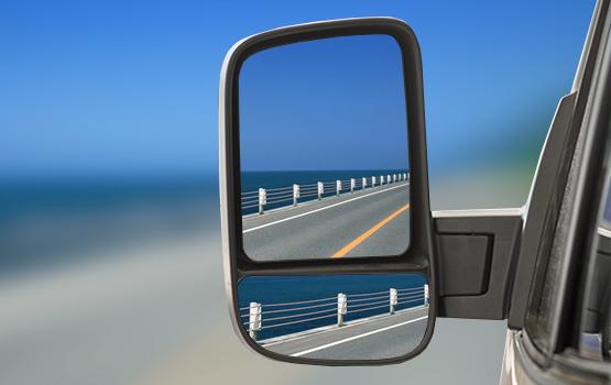 Зеркала заднего вида в автомобилях на базе 4WD