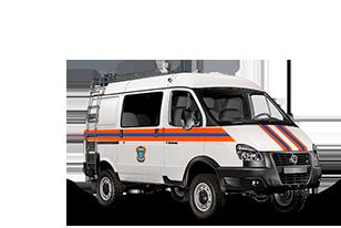 Аварийно-спасательный автомобиль на базе ГАЗель 4WD