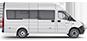 Габаритные размеры ГАЗель Next Автобус ЦМФ, до 17 мест. Вид справа