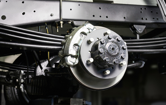 Дисковые тормозные механизмы на всех колесах ГАЗель Next Борт 4,6 тонн
