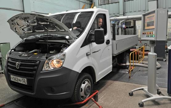 Испытание надежности автомобилей ГАЗель NEXT Борт