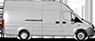 Автомобиль на базе Газель NEXT ЦМФ, белый. Удлиненная база. Вид справа