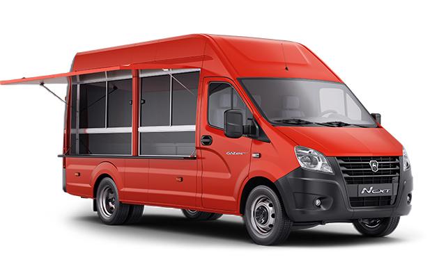 Автомобиль для мобильной торговли ГАЗель NEXT