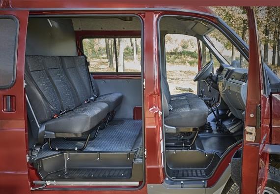 Водительское и пассажирское сидения в автомобилях на базе ГАЗель 4WD