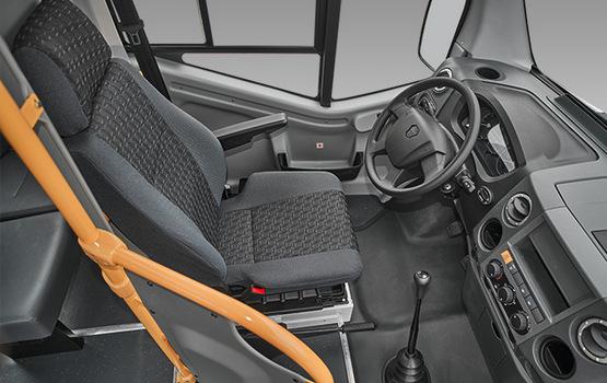 Водительское сидение в ГАЗель Next Автобус