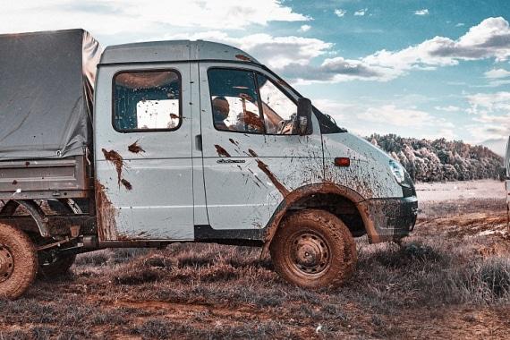 Автомобиль на базе ГАЗель 4WD, белый, вид справа