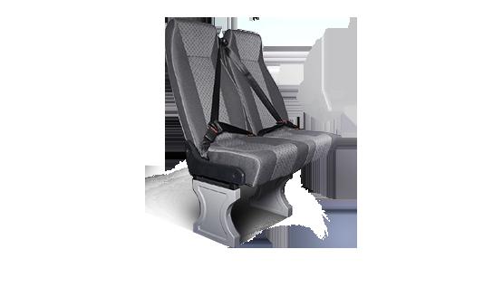 Сиденья и ремни безопасности в автомобилях на базе 4WD
