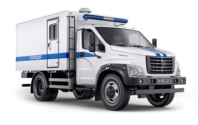 Автомобиль для перевозки заключенных ГАЗон Next