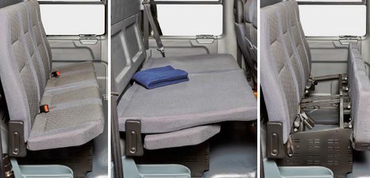 Второй ряд сидений в автомобилях ГАЗель NEXT ЦМФ
