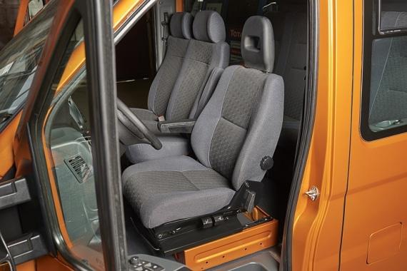 Сидения в кабине автомобилей ГАЗель Next борт